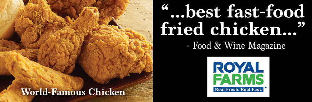 Food and Wine Magazine says Royal Farms has Best Fast Food Fried Chicken
