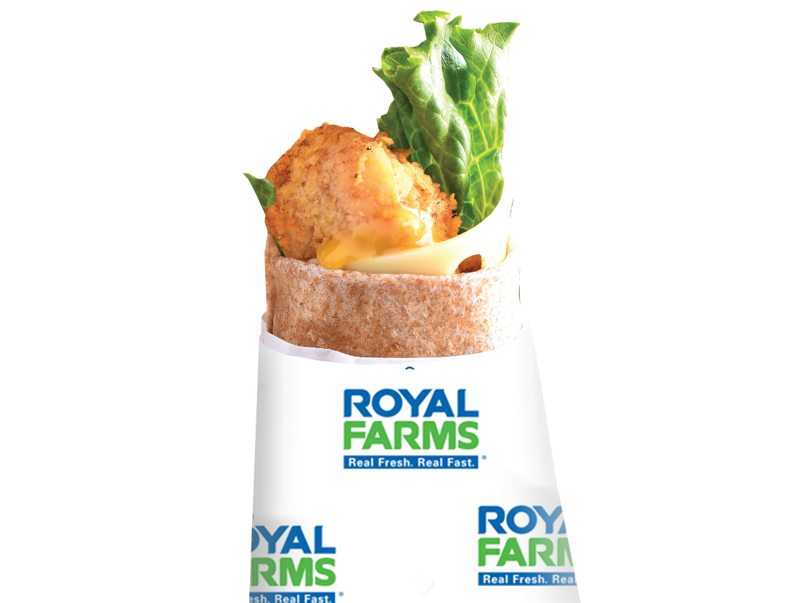 Royal Farms Honey Mustard Snack Wraps