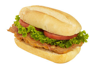 Chicken Tender BLT Sub.