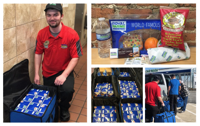 Royal Farms Packaged Meals
