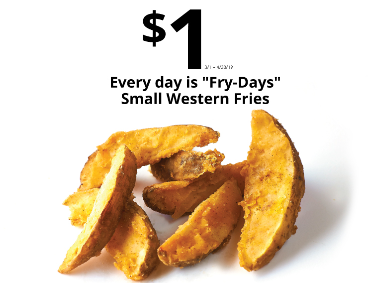 1 every day is fry days
