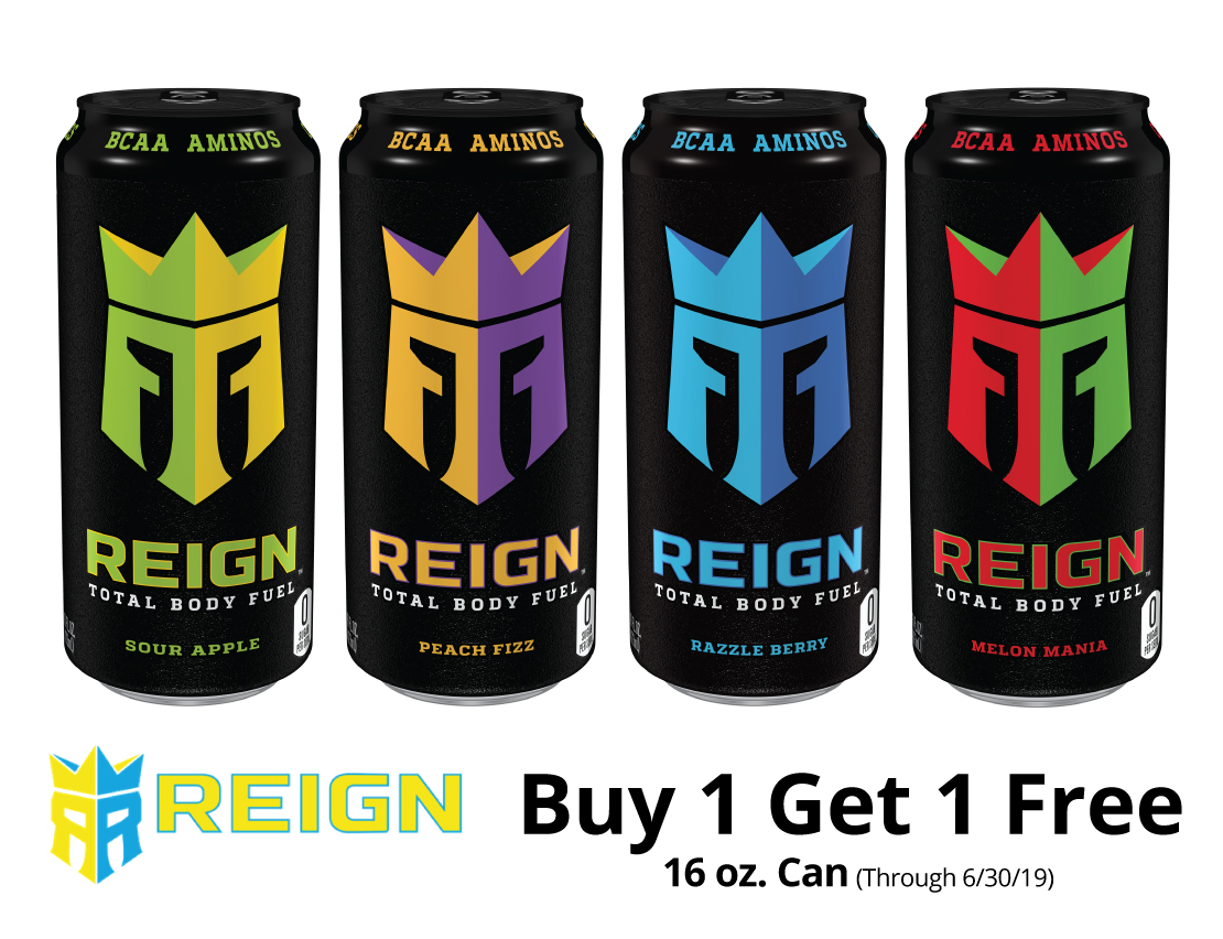 Reign - Buy 1 Get 1 Free