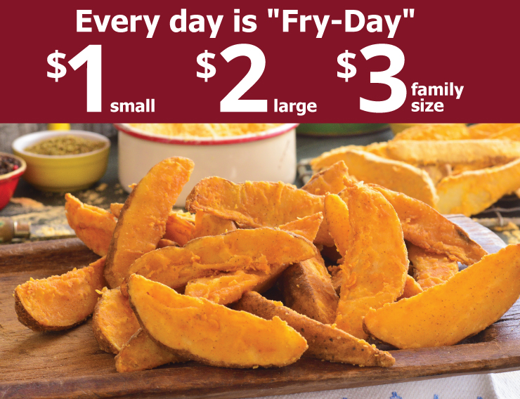 Every day is Fry Day - 1, 2, 3