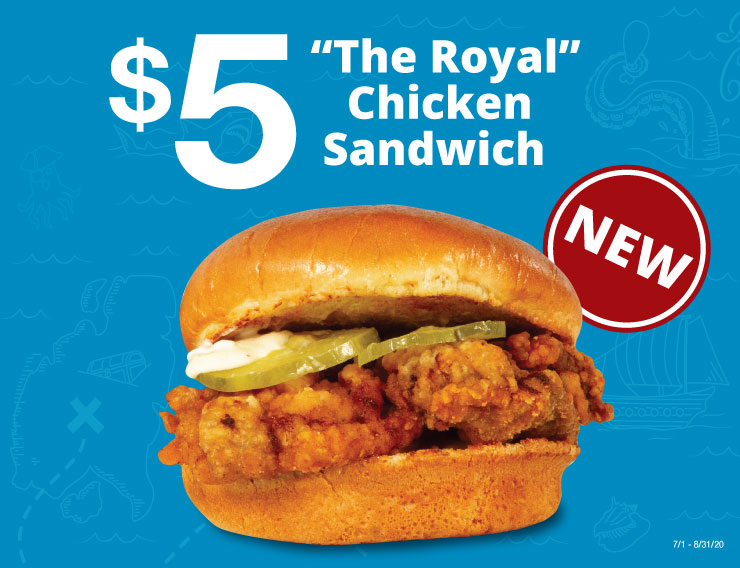 The royal Chicken Sandwich
