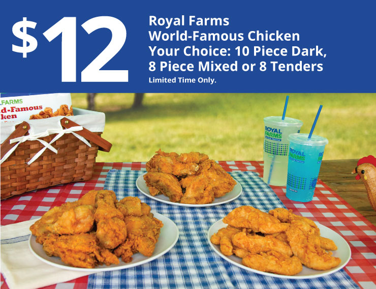 $12 Royal Farms World-Famous Chicken