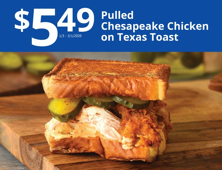 chicken texas toast