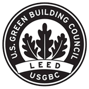 U.S Green Building Council logo.